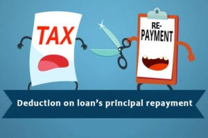 2. Deduction on loan's principal repayment