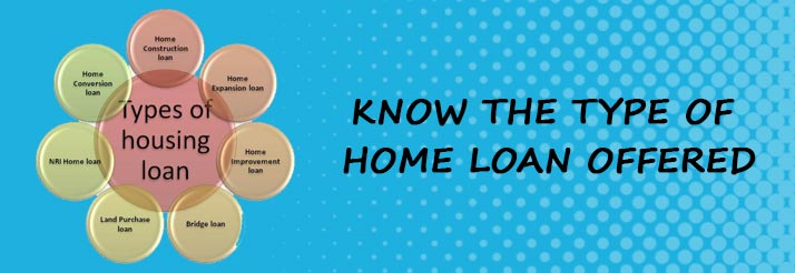Type of Home Loan