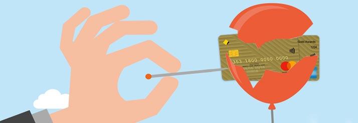 myths of credit card