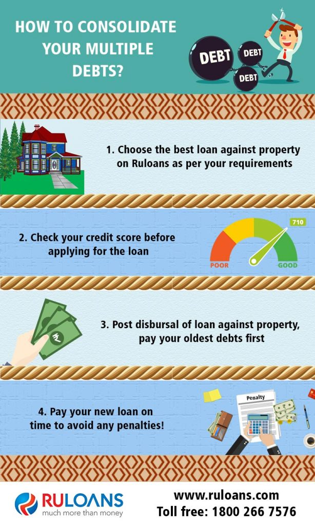 How to consolidate your multiple debts