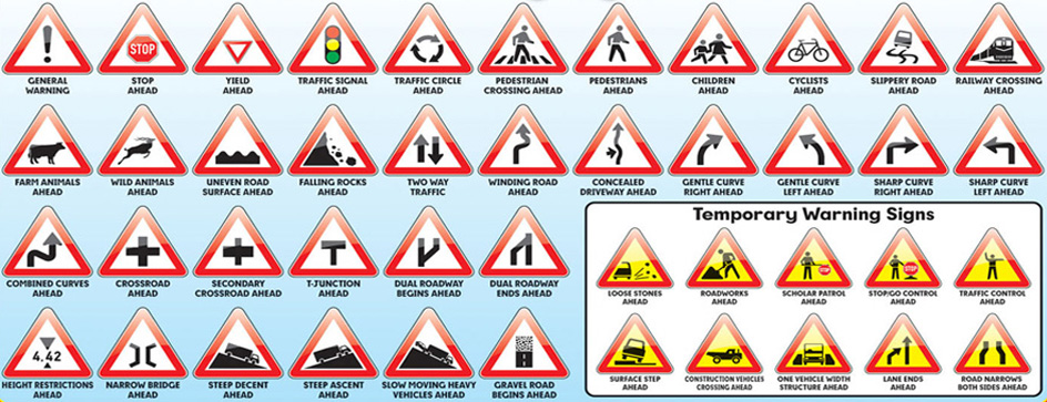 Traffic rules you should follow