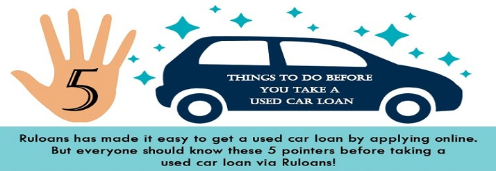 things to do before you take a used car loan