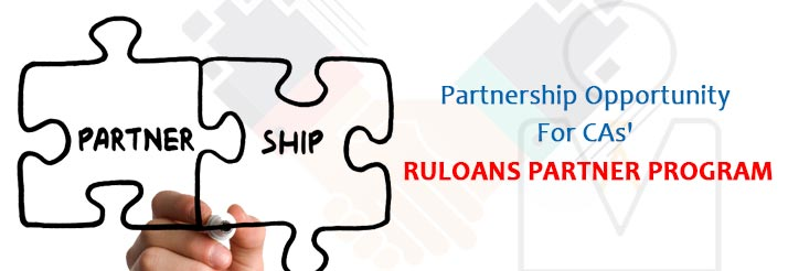 Partnership Opportunity For CAs' Ruloans Partner Program
