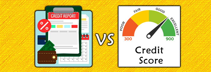 Credit-Report-vs-Credit-Score