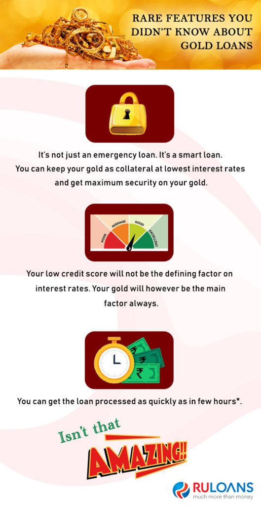 Rare Features you didnt know about Gold Loans