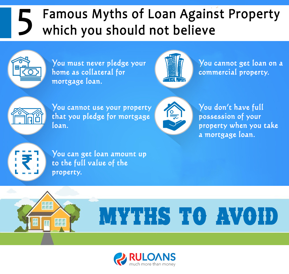 5 Famous Myths of Loan against Property which you should not believe