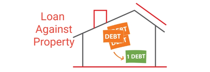 What are the Loan against property ways for Debt consolidation?
