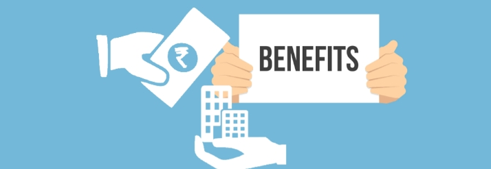 What are the benefits of taking a loan against property?